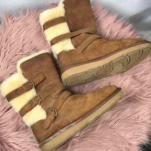 c96192acd2e UGG Women's Becket Triple Buckle Boots